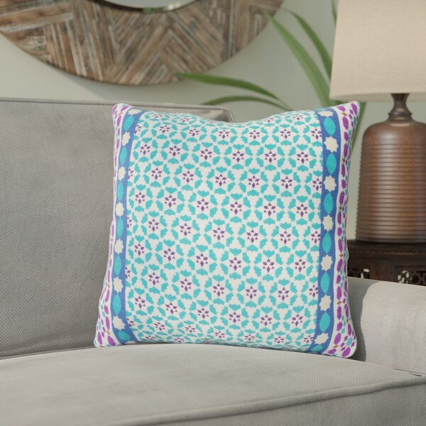 Bruno 100% Cotton Throw Pillow by Bungalow Rose